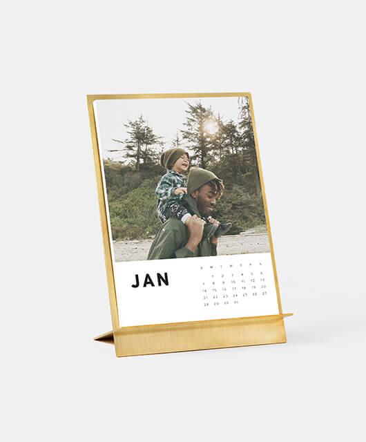 Brass Easel & Calendar-img